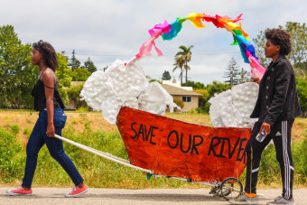 Santa Cruz Celebrates the San Lorenzo River with Art Parade