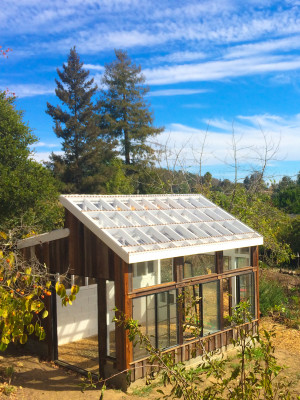 Solar greenhouse design